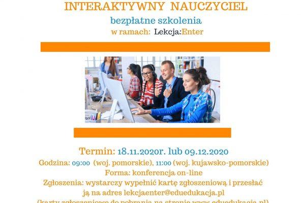 Zgłoszenie na konferencje - Interaktywny nauczyciel